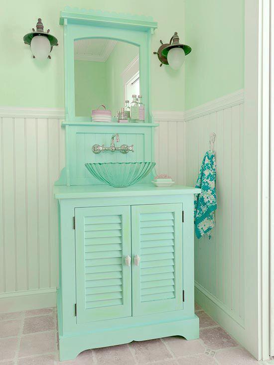 Beachy Blue Sink