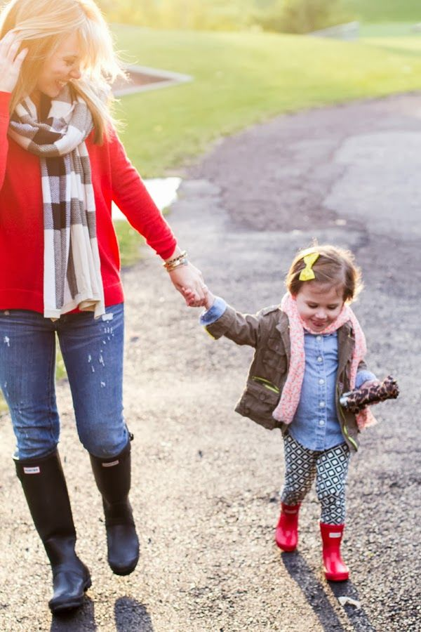 Hunter Boots Mother and Daughter 2