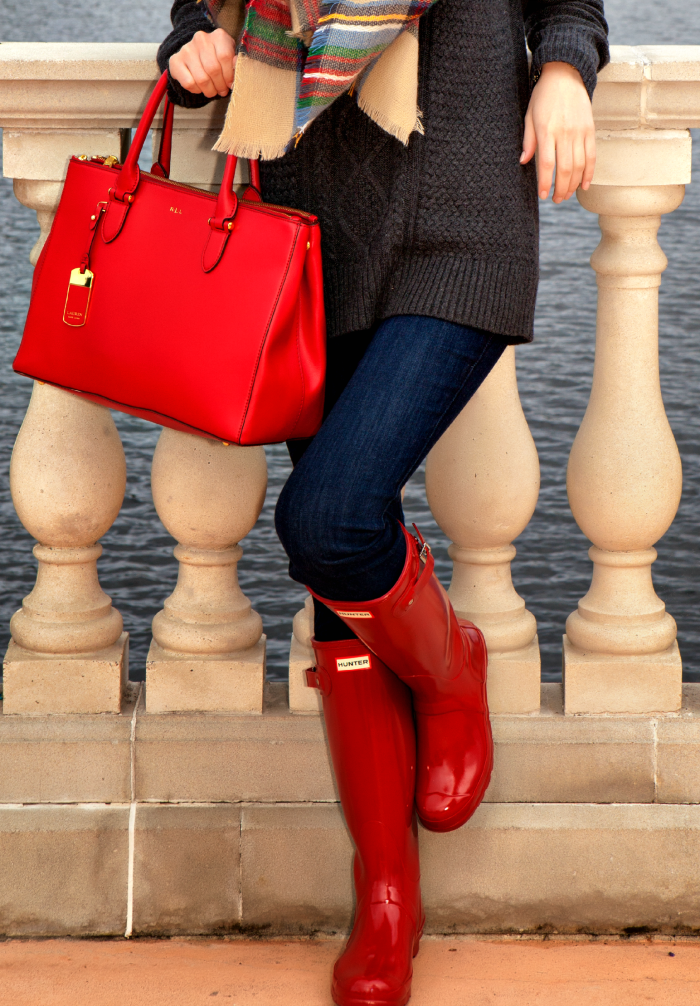 Red Hunter Boots 2