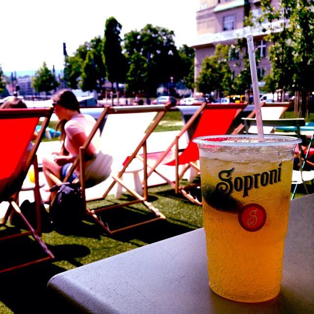 Fresh lemonade in lovely Budapest❤️