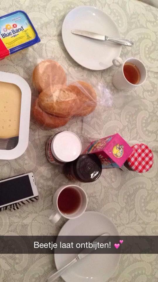 Ontbijtje met Tess