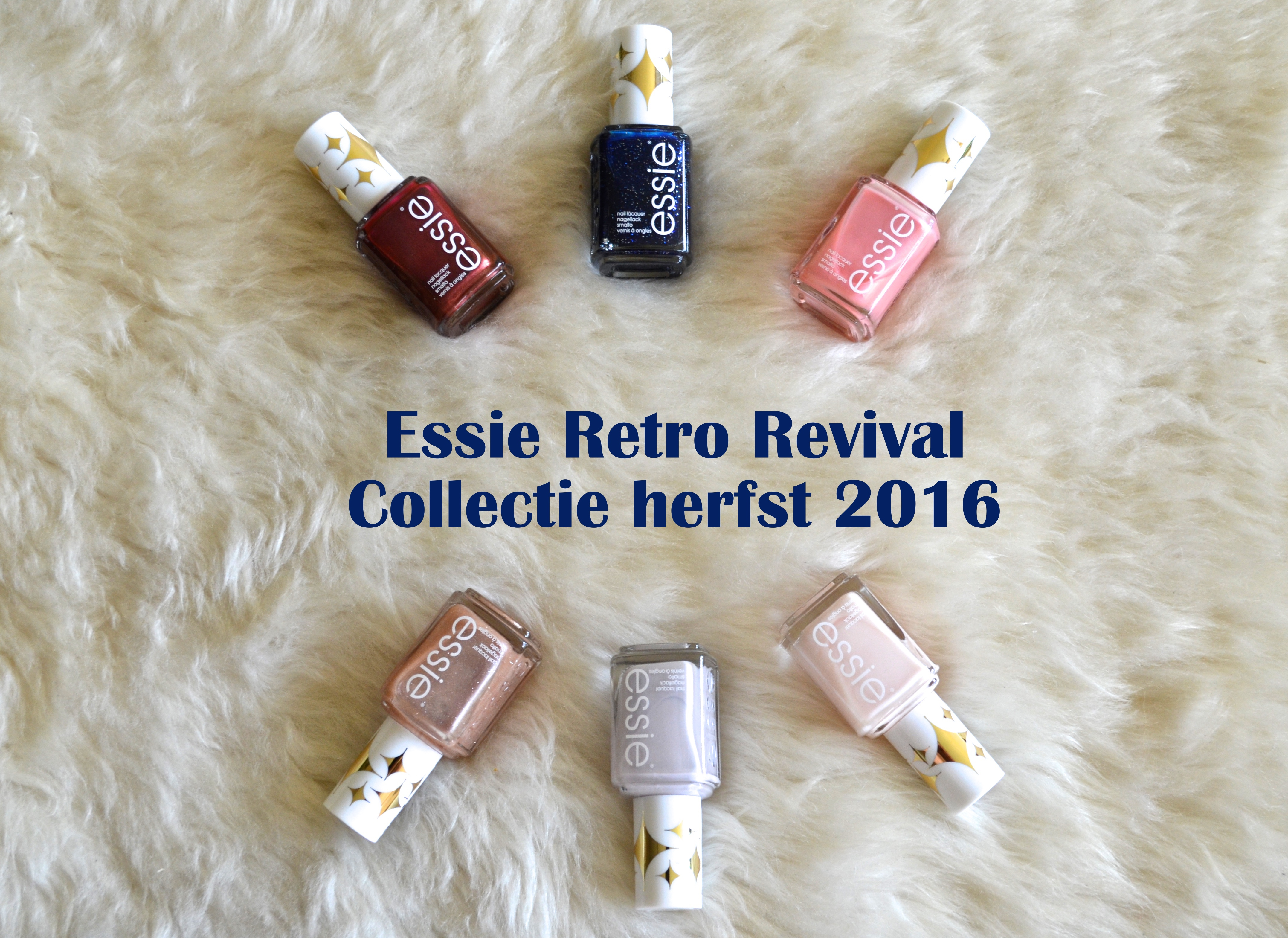 Essie retro revival collectie herfst 2016